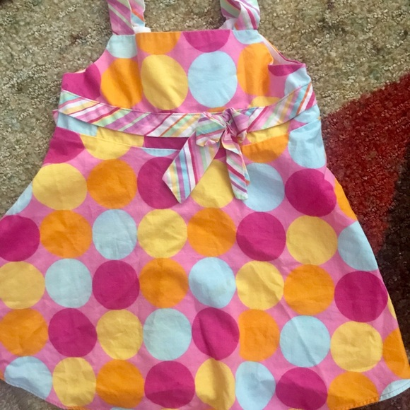 Chantilly Place Other - Colorful polka dot dress